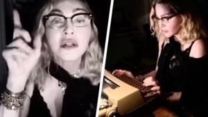 """Madonna vertelt in bizarre video dat ze positief test op antilichamen tegen coronavirus: """"Ik ga Covid-19 lucht inademen"""""""