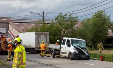 Bestuurder gewond na ongeval