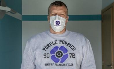 Supportersclub Anderlecht ontwerpt mondmaskers