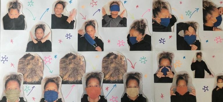 """""""Wees veilig, in stijl"""": nieuwe campagne en TikTok-video met Marc Van Ranst toont hoe je correct een mondmasker draagt"""