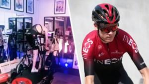 Chris Froome bereidt zich volop voor op de Tour … op TikTok