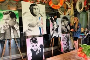 Montana (27) verkoopt schilderijen als steun voor de zorg
