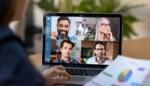 Praat niet door elkaar en wees je ervan bewust dat je collega's alles kunnen zien: de etiquetteregels van het videovergaderen