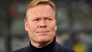 Nederlands bondscoach Ronald Koeman moet een tijdje rust nemen na hartoperatie