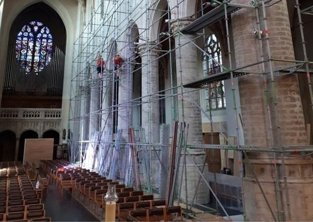 Werken aan Sint-Katharinakerk worden hervat