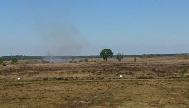 Lichte geurhinder door beperkte brand op schietterrein van Kamp Beverlo