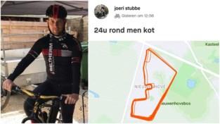 """Jaar na horrorcrash fietst Joeri (41) meer dan 500 kilometer 'rond zijn kot': """"Mij krijgen ze niet klein"""""""