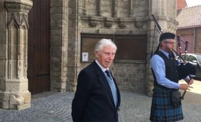 Veteraan George (98), de Vlaamse captain Tom, krijgt heldenontvangst