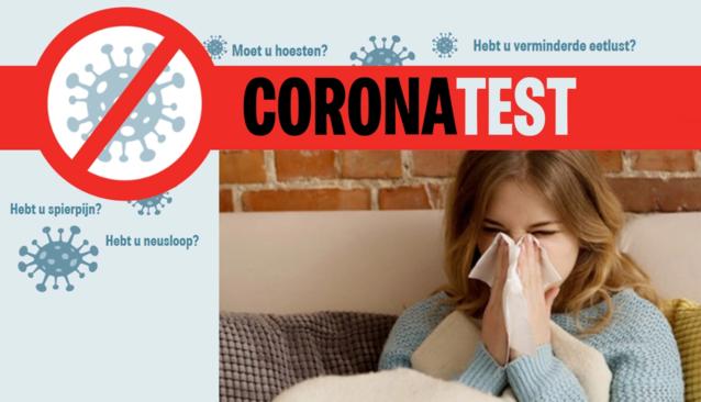 ONLINE TEST CORONAVIRUS. Test of jij symptomen vertoont van COVID-19