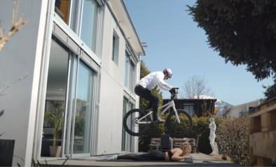 Al bijna vier miljoen (!) keer bekeken: mountainbiker Fabio Wibmer doet monden openvallen met stunts in z'n kot
