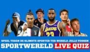 Herbeleef hier de enige echte sportquiz van Het Nieuwsblad, met special guest Jelle Vossen