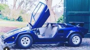 Gestolen Junior Lamborghini amper halve kilometer verderop in garagebox teruggevonden