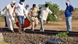Zestien mensen omgekomen bij aanrijding door trein in India