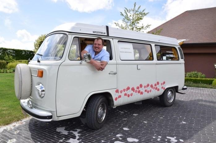 Nu we waarschijnlijk op vakantie moeten in eigen land: Pieter zet hippiebusjes te huur, mét coronakorting