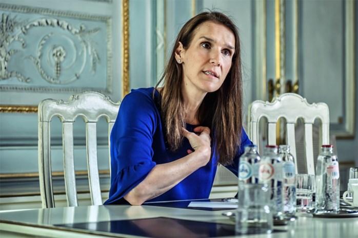"""Premier Sophie Wilmès: """"In zo'n crisis is niemand ooit de juiste vrouw op de juiste plaats"""""""