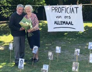 """Zestig jaar getrouwd in volle coronacrisis, en toch kregen André en Maria een 'tuinfeest': """"We hadden hen zo graag willen vastpakken"""""""