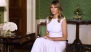 """Melania Trump eert de maatschappelijke rol van moeders: """"Ze vormen normen en waarden van toekomstige leiders"""""""