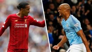 """De beste verdediger ooit in de Premier League volgens Vincent Kompany: """"Het klinkt raar, maar dat is nu al Virgil van Dijk"""""""