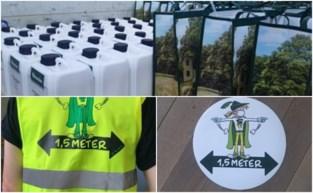 Inwoners van Sint-Martens-Latem krijgen twee keer gratis mondmasker in de bus