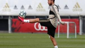 """Eden Hazard maakt goede indruk bij eerste training van Real Madrid: """"Hij staat scherp"""""""