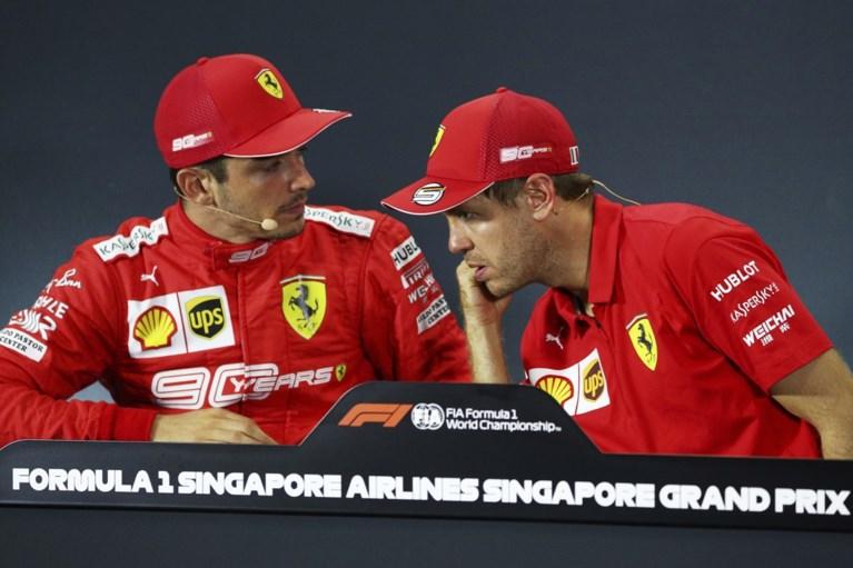 Contractonderhandelingen lopen spaak: Sebastian Vettel verlaat Ferrari op het einde van het seizoen