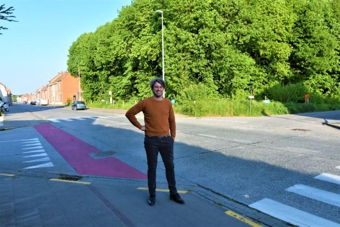 """Volgend jaar worden twee gevaarlijke kruispunten op Heerbaan aangepakt: """"Er wordt hier overdreven snel gereden"""""""