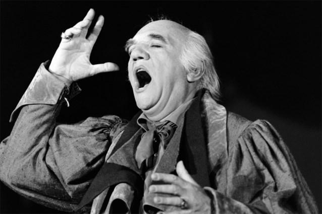 Franse operazanger Gabriel Bacquier overleden