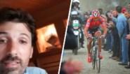 Een eerbetoon aan Parijs-Roubaix: Fabian Cancellara zette zijn drie kasseistenen op een unieke plek