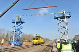 Elektrische treinen naar Hamont half jaar later door corona