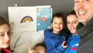 """Kim Clijsters en haar gezin hebben positieve boodschap in lockdown: """"Opnieuw dingen geleerd die we vergeten waren"""""""