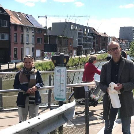 'Nog 13 minuten tot Ghelamco Arena': eerste Gentse Spitspunt helpt je om veilig met de fiets te gaan werken