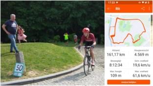 """Milan (22) doet beter dan Remco Evenepoel op de Muur: """"Na de 50ste beklimming voelde ik dat er nog iets in zat"""""""