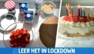 Je verjaardag vieren in quarantaine? Zo bak je in no time een heerlijke taart