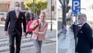 Ook prinses Eléonore mag terug naar school en wordt persoonlijk afgezet door papa Filip