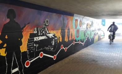 Muurschilderingen in tunnel zijn knipoog naar het verleden