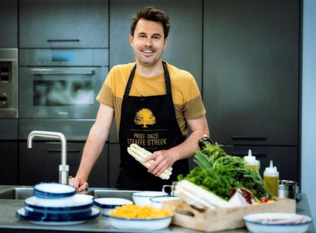 Kok van 'Vive le vélo' start kookprogramma op regionale televisie