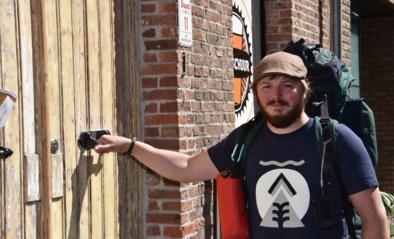 Na de kroegentocht nu ook de brouwerijentrek: cafébaas Jasper wandelt land door om bier te proeven