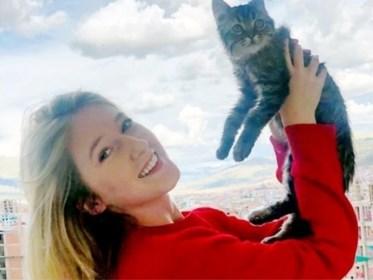 """Vlaamse studente krijgt euthanasiebevel voor katje dat ze uit Peru meebracht: """"Ik laat Lee niet zomaar doodspuiten"""""""