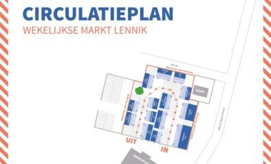 Opnieuw wekelijkse markt in Lennik en Gaasbeek, ook marktbus rijdt terug uit