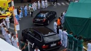 Medisch personeel keert Wilmès rug toe