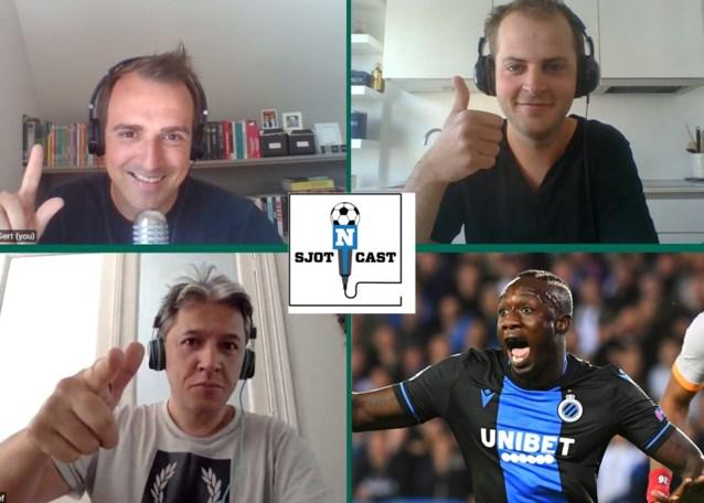 SJOTCAST. Mbaye Diagne breekt het kot af, Dirk Geeraerd is een charmezanger en Jan Ceulemans speelde liever met twaalf