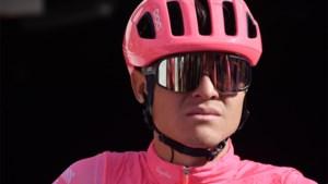 Luis Villalobos (EF Pro Cycling) test positief op groeihormoon