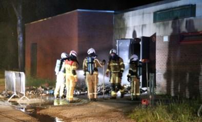 Vandalen steken afval aan jeugdhuis Bobo in brand