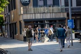 Burgemeester bant 'afhaalpinten' in centrum van Hasselt: