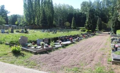 Laatste fase werken begraafplaats gestart