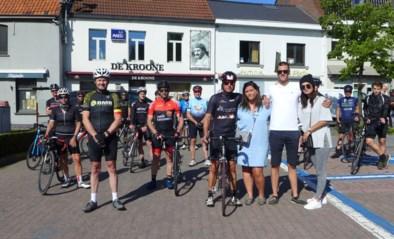 """Vader en vrienden fietsen een hart voor overleden Mathieu (19): """"Hij was enorm sympathiek en joviaal"""""""