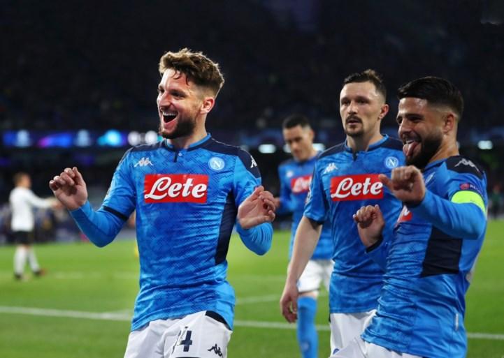 Napoli gebruikt emotionele chantage om Dries Mertens te houden