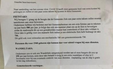 """Valse brief van gemeente vraagt inwoners om 'coronataks' te betalen: """"Betaal zeker niet"""""""