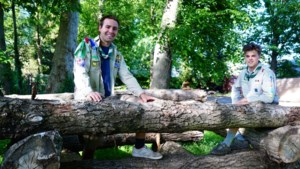 """Scouts stelt tuin open voor gezinnen: """"Geweldig dat we kinderen zo gelukkig maken"""""""
