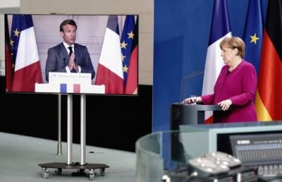 """Ambitieus, tijdelijk en ongezien plan om EU-landen te redden in coronatijden: """"Geen blanco cheque, wel een van 500 miljard euro"""""""